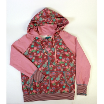 Hoodie old pink sunny