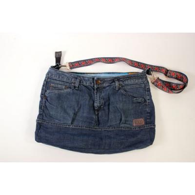 Used jeans weekendtas