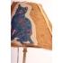 Lamp vintage poes