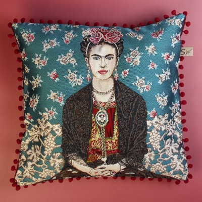 Kussen Frida Magda Bleu 70B
